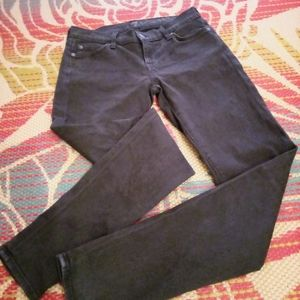 7 For All Mankind ladies black jeans sz 26